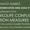 Human Wildlife Conflict Mitigation measures in KAZA TFCA